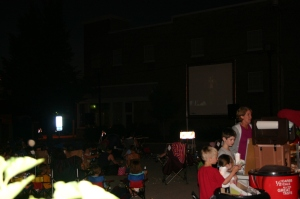 Many people enjoyed the movie, as well as the snacks!