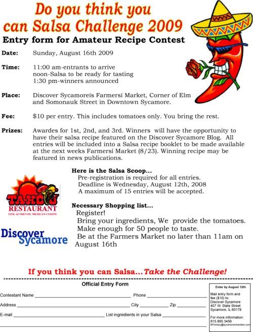 Salsa Challenge 2009